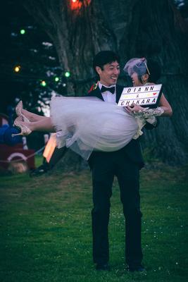 Diann and Chikara - Christmas elopement - Santa Cruz and San Francisco Bay Area Wedding Photographer - eyeCatchLight Photography