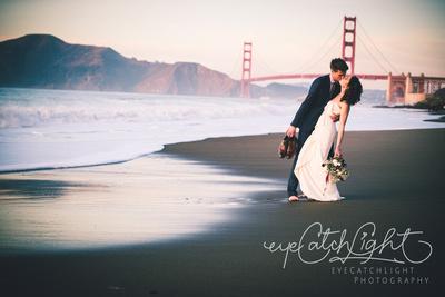 Intimate Wedding Photography At San Francisco Baker Beach