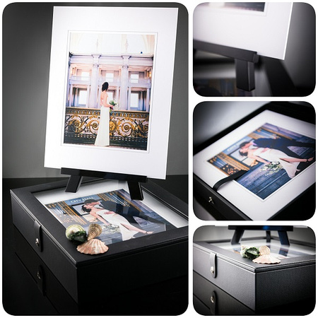 Folio Box for Contemporary Wedding and Portrait Photography Display