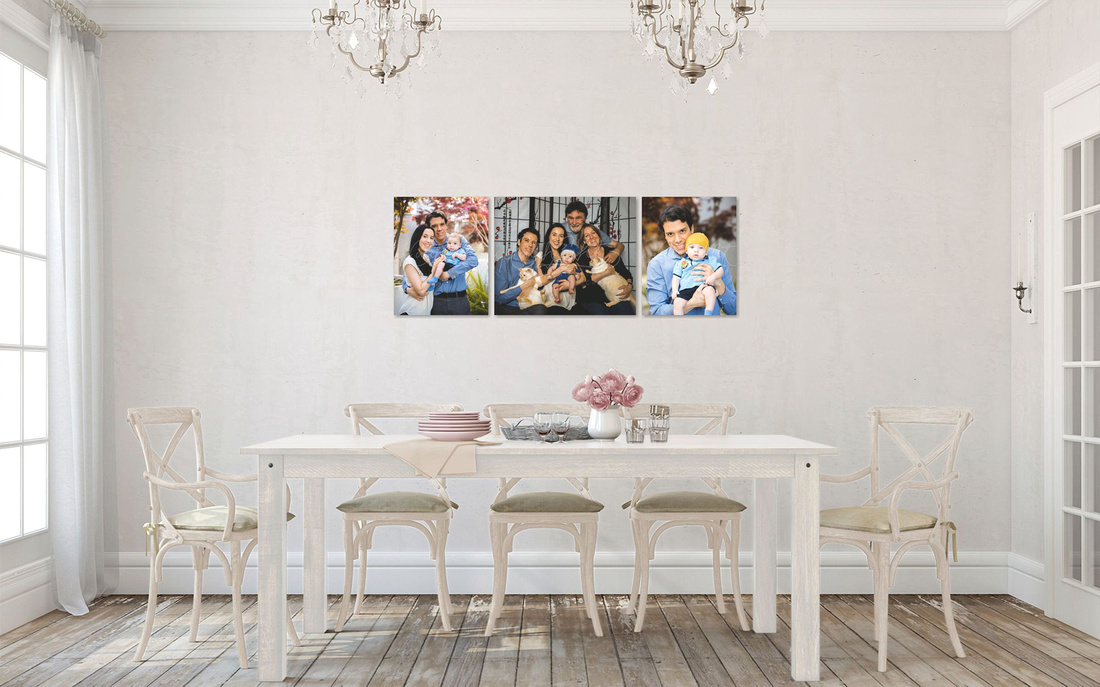 Rustic Romance Dining Room with Baby Sandor Wall Art